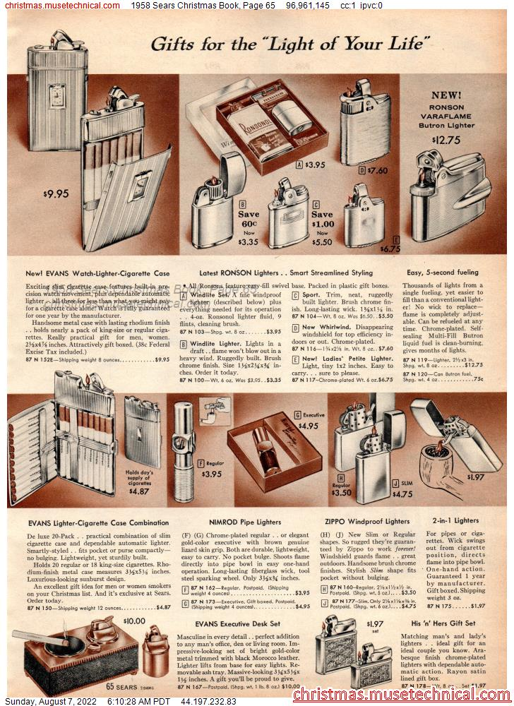 1958 Sears Christmas Book, Page 65