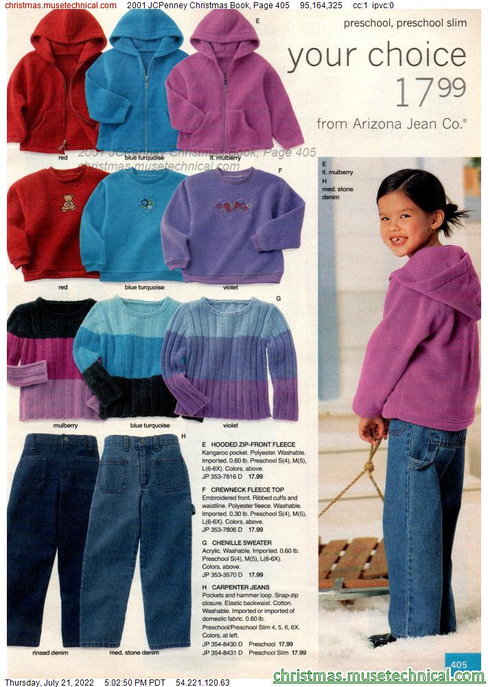 2001 JCPenney Christmas Book, Page 405