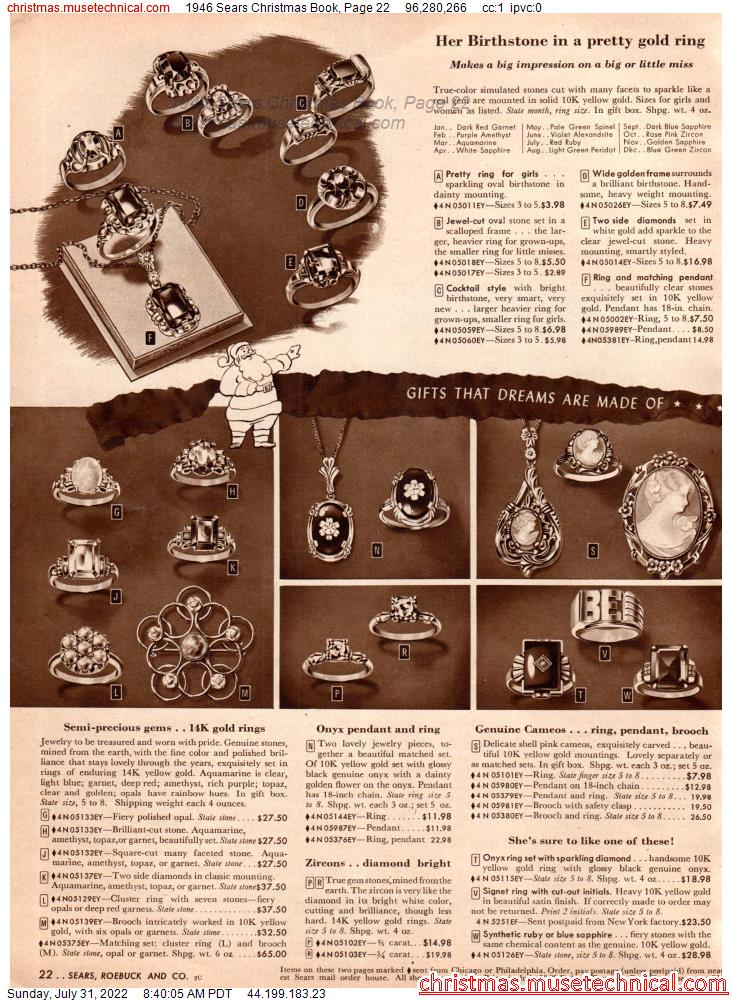 1946 Sears Christmas Book, Page 22