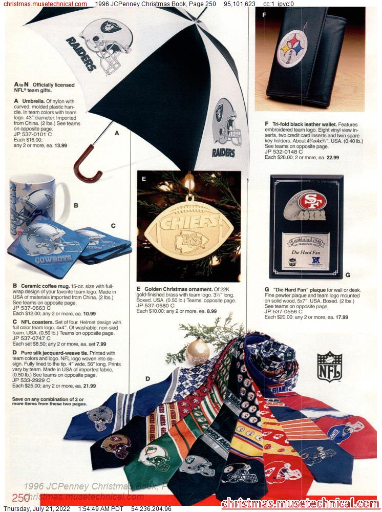 1996 JCPenney Christmas Book, Page 250