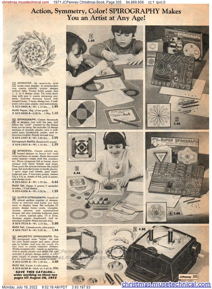 1971 JCPenney Christmas Book, Page 305