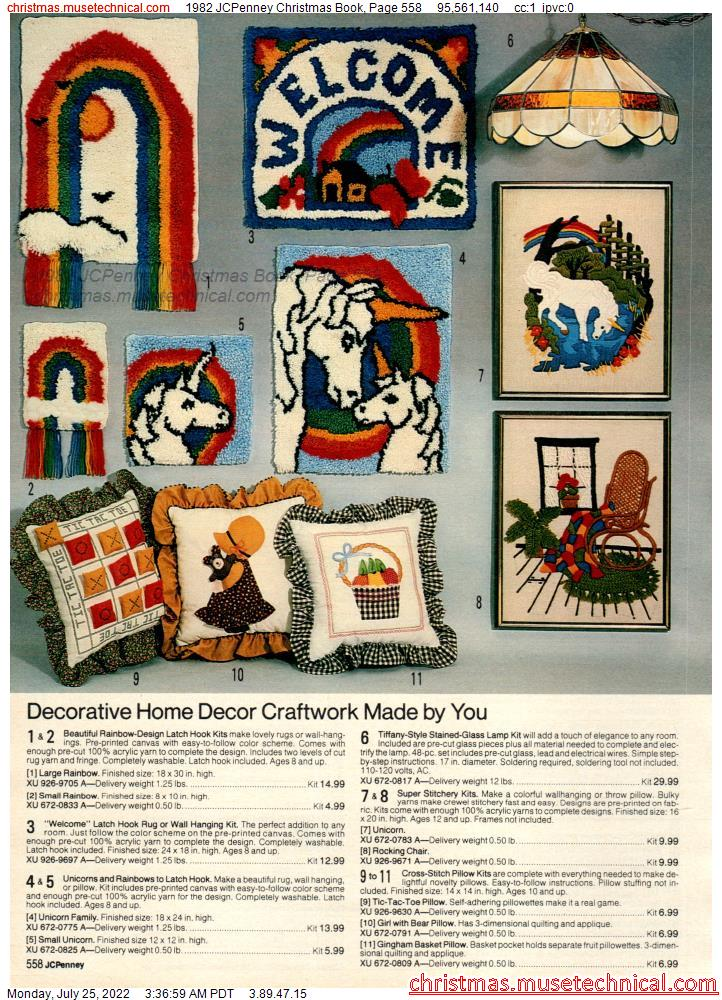1982 JCPenney Christmas Book, Page 558