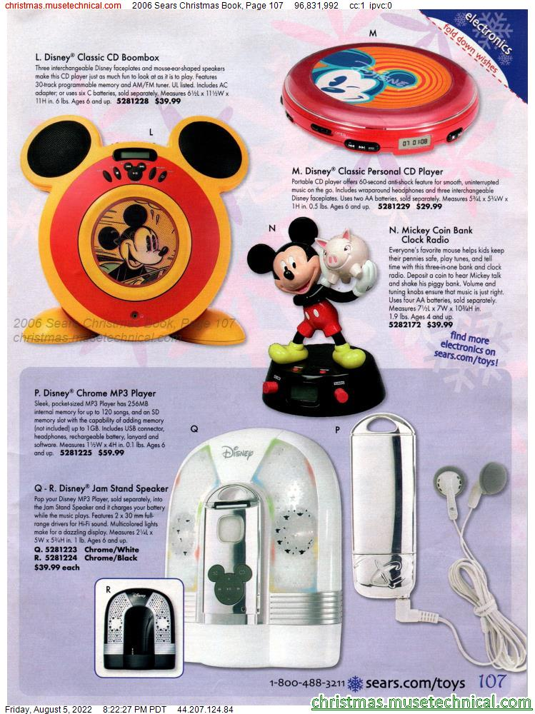 2006 Sears Christmas Book, Page 107