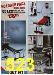 1985 Sears Spring Summer Catalog, Page 523