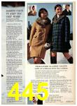 1969 Sears Fall Winter Catalog, Page 445