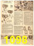 1956 Sears Fall Winter Catalog, Page 1098