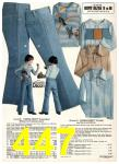 1976 Sears Fall Winter Catalog, Page 447