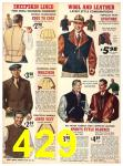 1940 Sears Fall Winter Catalog, Page 429
