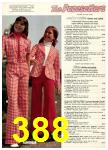 1974 Sears Spring Summer Catalog, Page 388