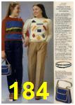 1980 Sears Fall Winter Catalog, Page 184