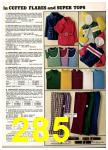 1974 Sears Spring Summer Catalog, Page 285