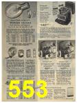 1965 Sears Fall Winter Catalog, Page 553