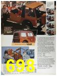 1986 Sears Fall Winter Catalog, Page 698