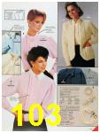 1986 Sears Fall Winter Catalog, Page 103