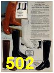 1972 Sears Fall Winter Catalog, Page 502