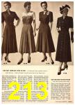 1949 Sears Spring Summer Catalog, Page 213