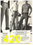 1969 Sears Fall Winter Catalog, Page 420
