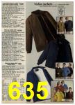1980 Sears Fall Winter Catalog, Page 635
