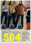 1979 Sears Fall Winter Catalog, Page 504