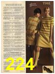 1968 Sears Fall Winter Catalog, Page 224