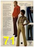 1972 Sears Fall Winter Catalog, Page 71
