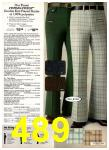 1977 Sears Spring Summer Catalog, Page 489