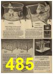 1962 Sears Spring Summer Catalog, Page 485