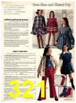 1973 Sears Fall Winter Catalog, Page 321