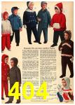 1962 Sears Fall Winter Catalog, Page 404