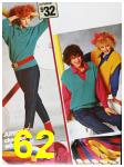 1985 Sears Fall Winter Catalog, Page 62