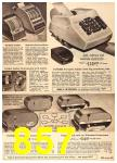1960 Sears Fall Winter Catalog, Page 857