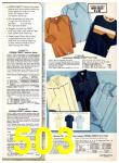 1977 Sears Fall Winter Catalog, Page 503