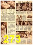 1940 Sears Fall Winter Catalog, Page 273