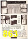 1969 Sears Spring Summer Catalog, Page 863