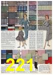 1957 Sears Spring Summer Catalog, Page 221