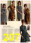 1965 Sears Fall Winter Catalog, Page 207