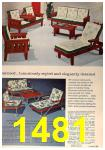 1964 Sears Spring Summer Catalog, Page 1481