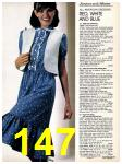 1981 Sears Spring Summer Catalog, Page 147