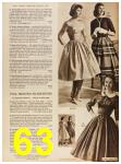 1958 Sears Fall Winter Catalog, Page 63