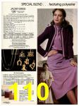 1982 Sears Fall Winter Catalog, Page 110