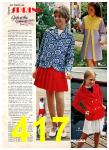 1972 Montgomery Ward Spring Summer Catalog, Page 417