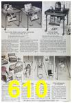 1964 Sears Fall Winter Catalog, Page 610