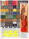 1967 Sears Fall Winter Catalog, Page 496
