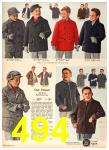 1958 Sears Fall Winter Catalog, Page 494