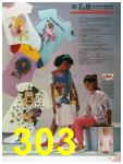 1986 Sears Fall Winter Catalog, Page 303