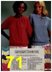 1981 Sears Spring Summer Catalog, Page 71