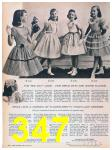 1957 Sears Spring Summer Catalog, Page 347