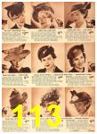 1942 Sears Spring Summer Catalog, Page 113