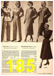 1949 Sears Spring Summer Catalog, Page 185