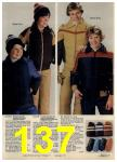 1980 Sears Fall Winter Catalog, Page 137